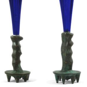 Candelabri in vetro Murano